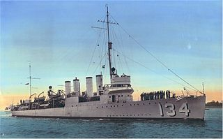 <i>Wickes</i>-class destroyer Destroyer class of the US Navy