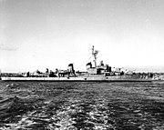 USS Massey (DD-778) stbd side