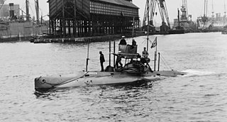 <i>Plunger</i>-class submarine 1903 class of submarines of the United States Navy