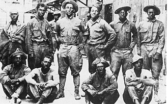 Battle of Ambos Nogales - Buffalo Soldiers of the U.S. 10th Cavalry Regiment who were taken prisoner during the Battle of Carrizal, Chihuahua, in 1916