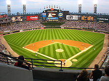 Guaranteed Rate Field Wikipedia - Us cellular field map