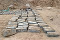US Navy 050303-M-4329J-004 Ammunition recovered at a weapons cache found south of Khrma, Iraq by U.S. Marines assigned to A Company, Combat Engineers, attached to 3rd Battalion, 8th Marines, 1st Marine Division.jpg