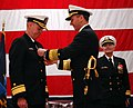 US Navy 090113-N-2984R-128 Adm. Jonathan W. Greenert presents Rear Adm. John W. Goodwin with the Legion of Merit award.jpg