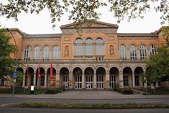 Wilmersdorf - Image: Ud K Musik Haupteingang