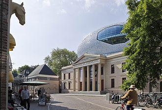 Museum de Fundatie - Paleis aan de Blijmarkt, the museum location in Zwolle, in 2014