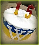 Ukrainian Wikipedia 15 Cake 2019.jpg