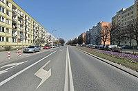 Ulica Mordechaja Anielewicza w Warszawie 2016.JPG