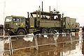 Un puesto móvil de mando de la Unidad Militar de Emergencias (UME) (15538667505).jpg