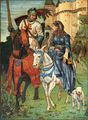 Una and the Red Cross Knight - Walter Jenks Morgan.png
