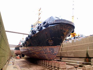 Union 5 in dry-dock of Antwerp pic5.JPG