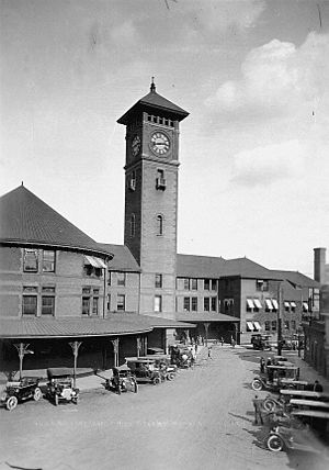 Portland Union Station - Union Station in 1913