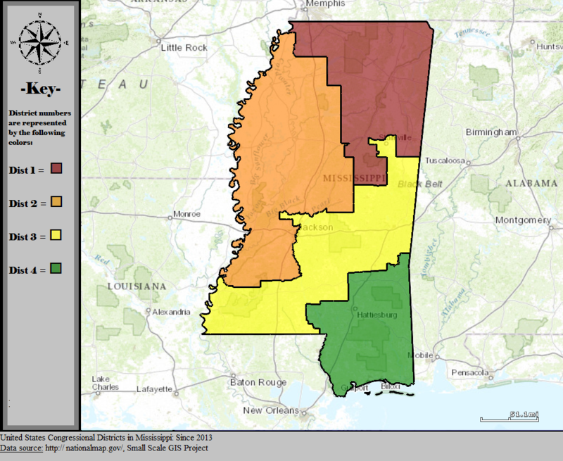 Mississippi\'s congressional districts - Wikiwand