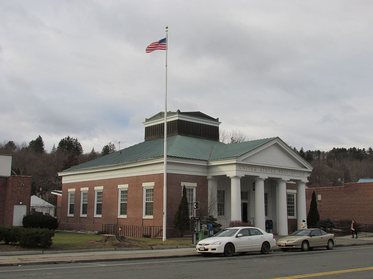 File united states post office great barrington wikipedia - United states post office ...