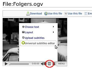 Universal subtitles select cc screen shot