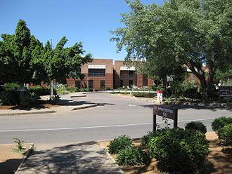 University of Botswana - Admin building