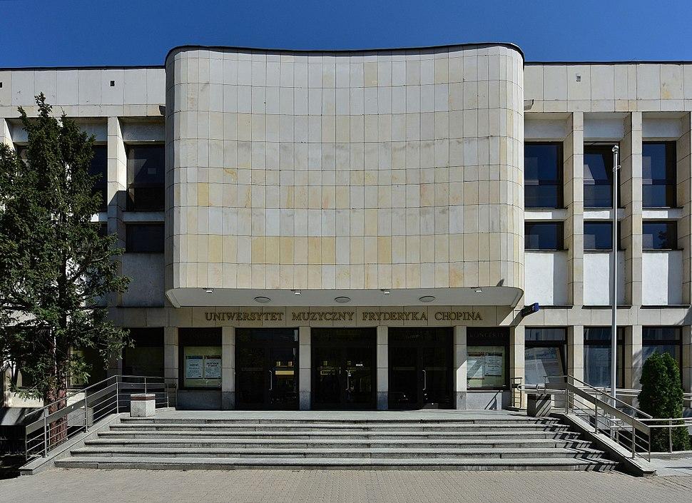 Uniwersytet Muzyczny Fryderyka Chopina wej%C5%9Bcie g%C5%82%C3%B3wne 2018