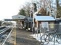 Up platform at Milford Station on a snowy Saturday morning - geograph.org.uk - 1625477.jpg