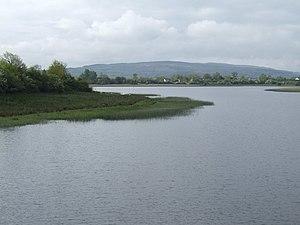Slieve Rushen - Slieve Rushen from Upper Lough Erne
