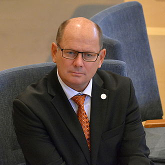 Speaker of the Riksdag - Image: Urban Ahlin 2015