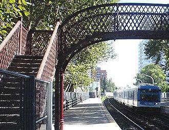 Núñez, Buenos Aires - Núñez train station.
