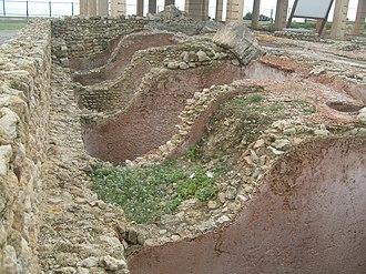 Salted fish - Image: Usines de Salaison I Neapolis