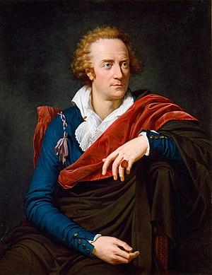 Vittorio Alfieri - Vittorio Alfieri painted by David's pupil François-Xavier Fabre, in Florence 1793.