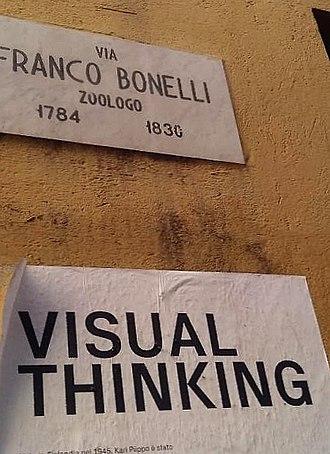 Visual thinking - VISUAL THINKING: poster in Turin