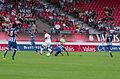 Valais Cup 2013 - OM-FC Porto 13-07-2013 - Lucho, Josué, Jordan Ayew, Fernando, Marat Izmaylov.jpg