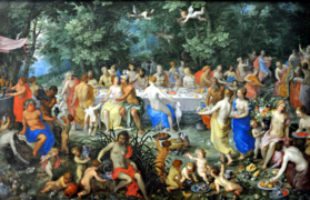 Van Balen and Brueghel, The Wedding of Thétis and Pélée-cropped white-balanced.png