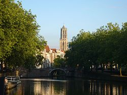 Utrecht city Dom tower
