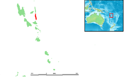 Location within Vanuatu