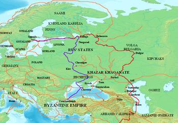 Путь из варяг в греки доклад 1489