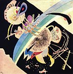 Vassily Kandinsky, 1921 - Study for Circles on Black.jpg