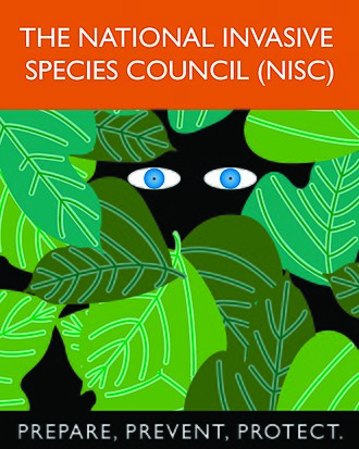 Logo of the National Invasive Species Council Vertical NISC Logo (13592513375).jpg