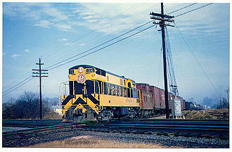 Virginian Railway - Image: Vgn 36 south norfolk