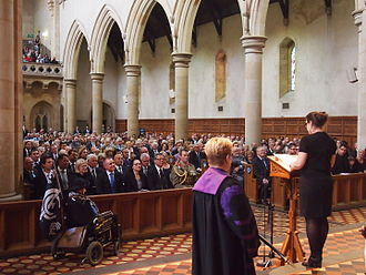 John Bannon - Victoria Bannon eulogising her father at his state funeral.