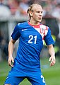 Vida Domagoj - Croatia vs. Portugal, 10th June 2013 (cropped2).jpg