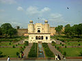 View of Lahore Fort from Badshahi Mosque Stairs.jpg