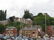 View of Macclesfield from Macclesfield train station.jpg
