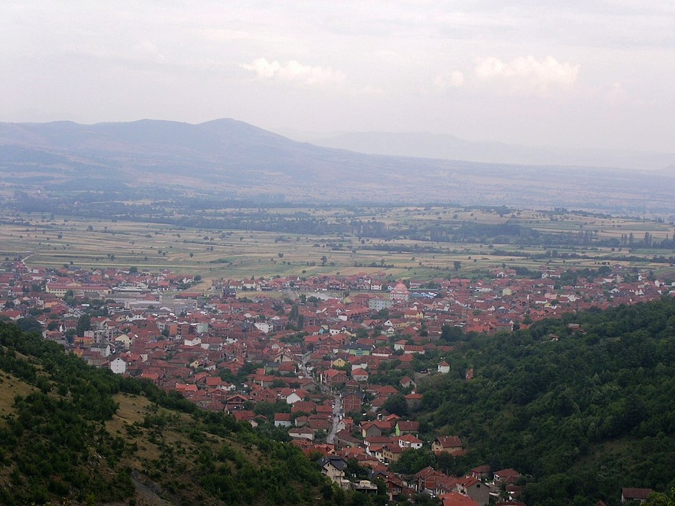 View of Preševo