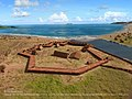 View on the fort Elizabeth (Kauai, Hawaii) from a bird's eye view. Reconstruction by Dr Alexander Molodin and Dr Peter R Mills, 2015.jpg