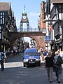 View up Eastgate street from outside W H Smith - geograph.org.uk - 802537.jpg