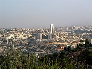 Gilo - Panoramic view of Jerusalem from Gilo