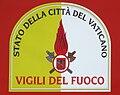 Vigili del fuoco vaticano shield.JPG