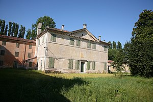 Villa Zeno - Rear view of the villa.
