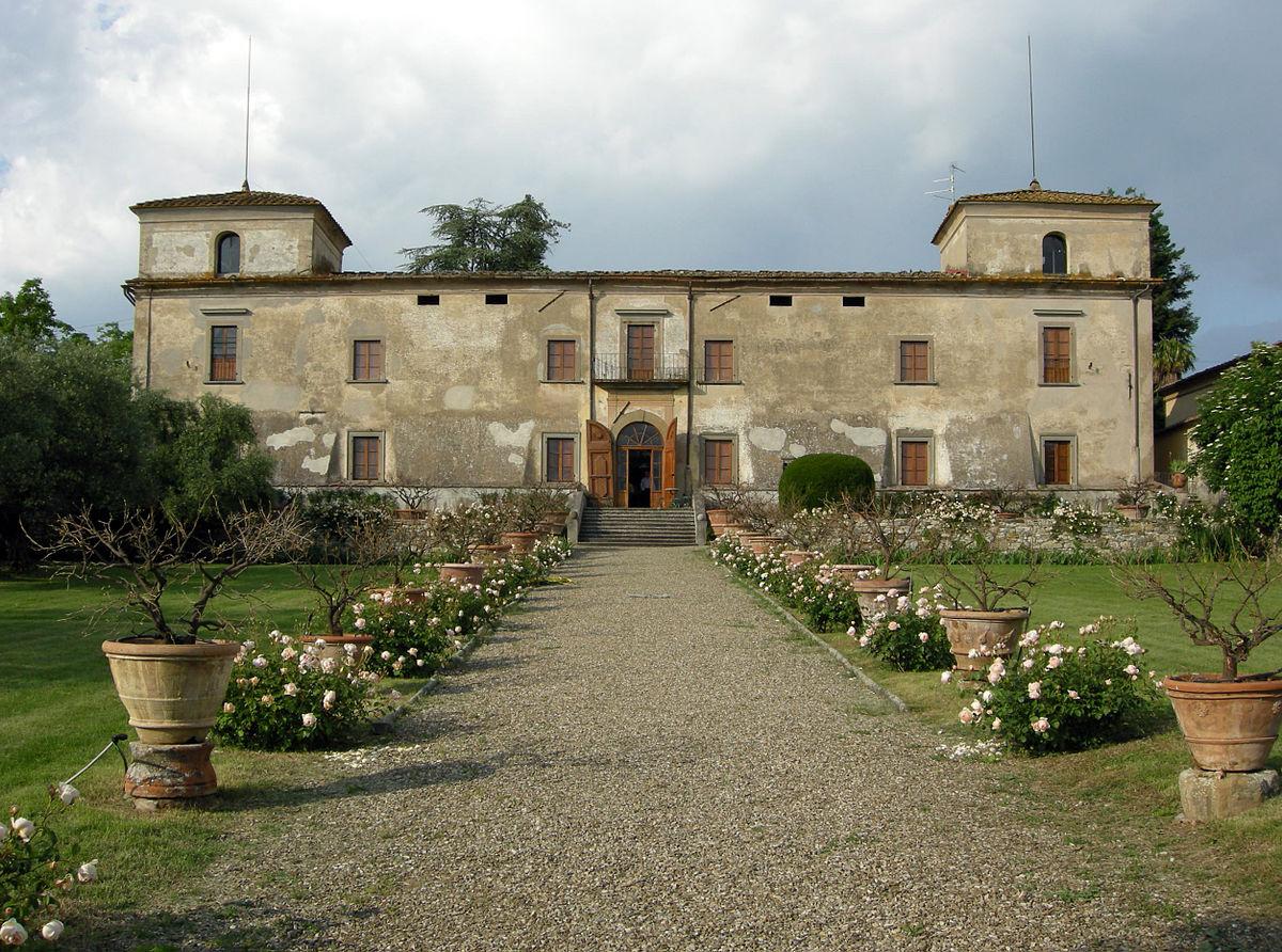 Villa Medicea Di Lilliano Wikip Dia