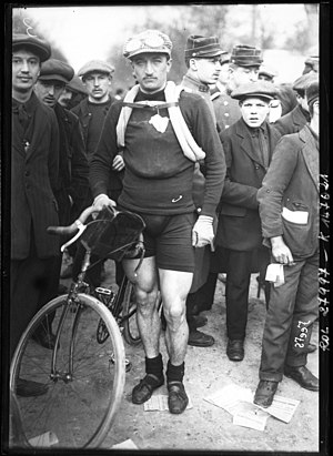 1911 Giro d'Italia - Image: Vincenzo Borgarello Paris Roubaix 1913