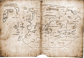 Vinland map - The Vinland map