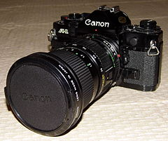 Vintage Canon 35mm SLR Camera, Model A-1, All-Digital Control, Made In Japan, Circa 1978 (13366931504).jpg