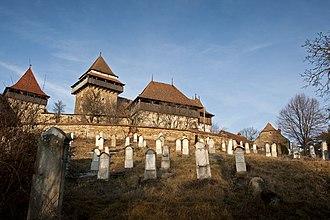 Viscri fortified church - Image: Viscri Cimitir evanghelic